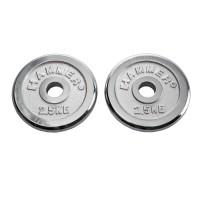 Finnlo FINNLO Gewichtsscheiben 2x 2,5 kg, chrom chrom