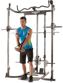 New Smith Machine: Smith Machine Core 3.0 + Cable-Cross Module