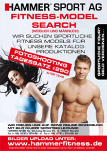 HAMMER is looking for fitness models!