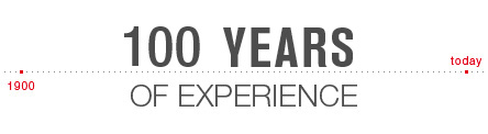 100  years of experience